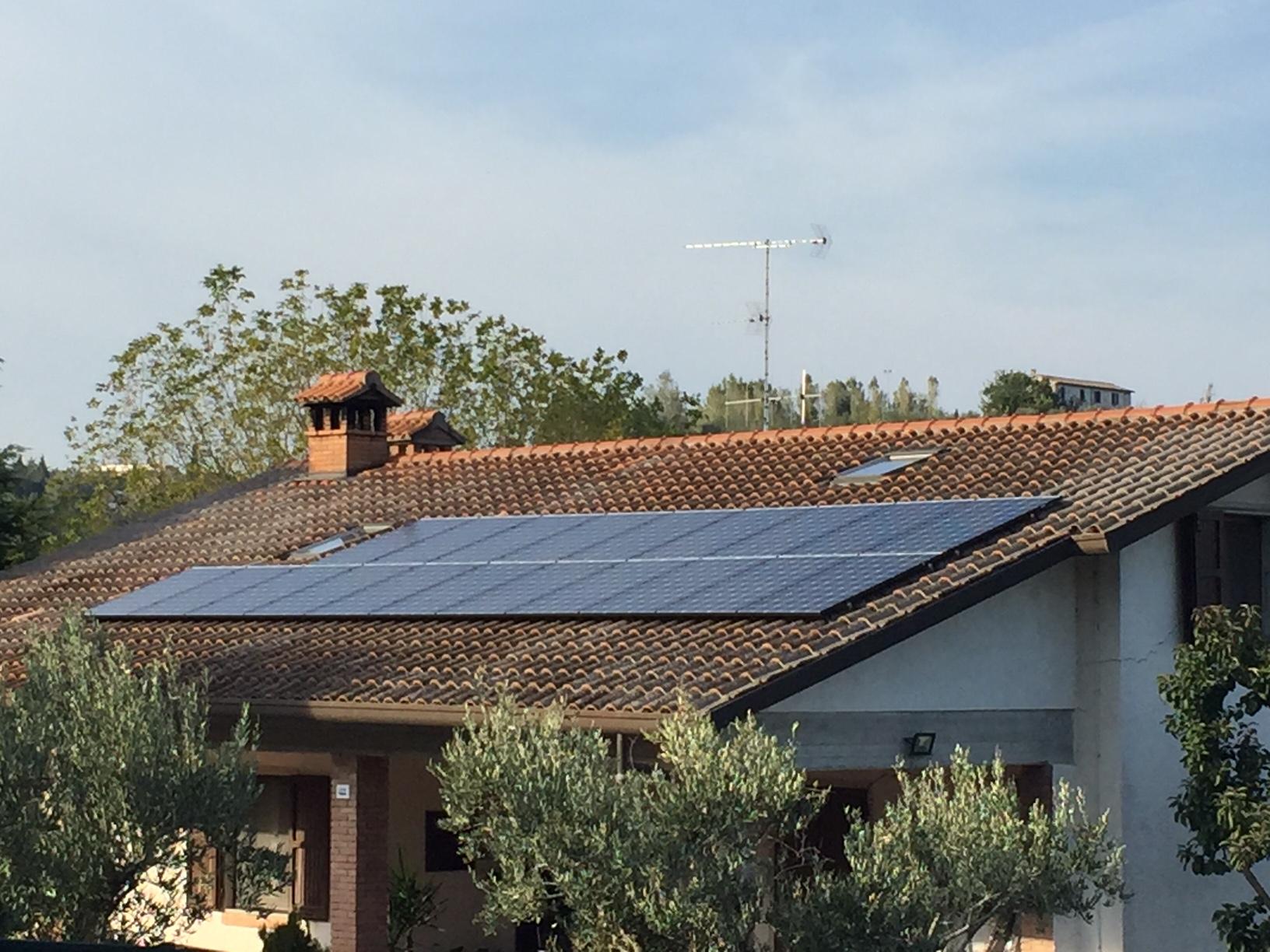 Impianto Fotovoltaico da 6kWp - Cesena (FC) - soetech.it