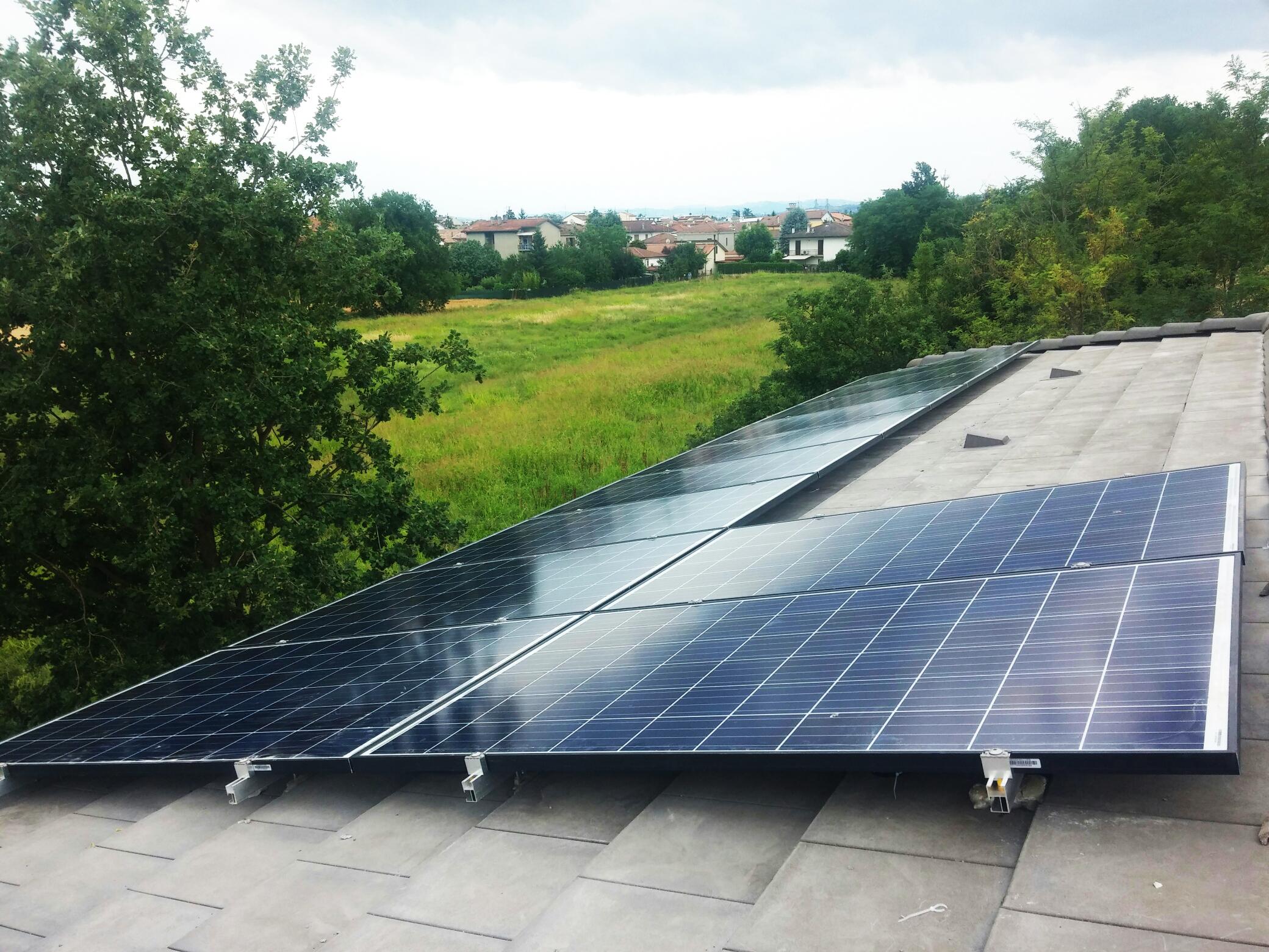 Impianto Fotovoltaico da 6kWp a Forlì (FC) - soetech.it