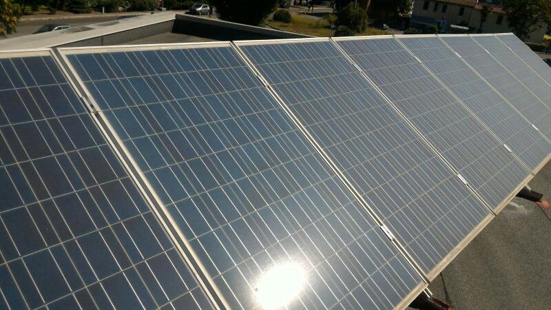 Pannello fotovoltaico non lavato - soetech.it