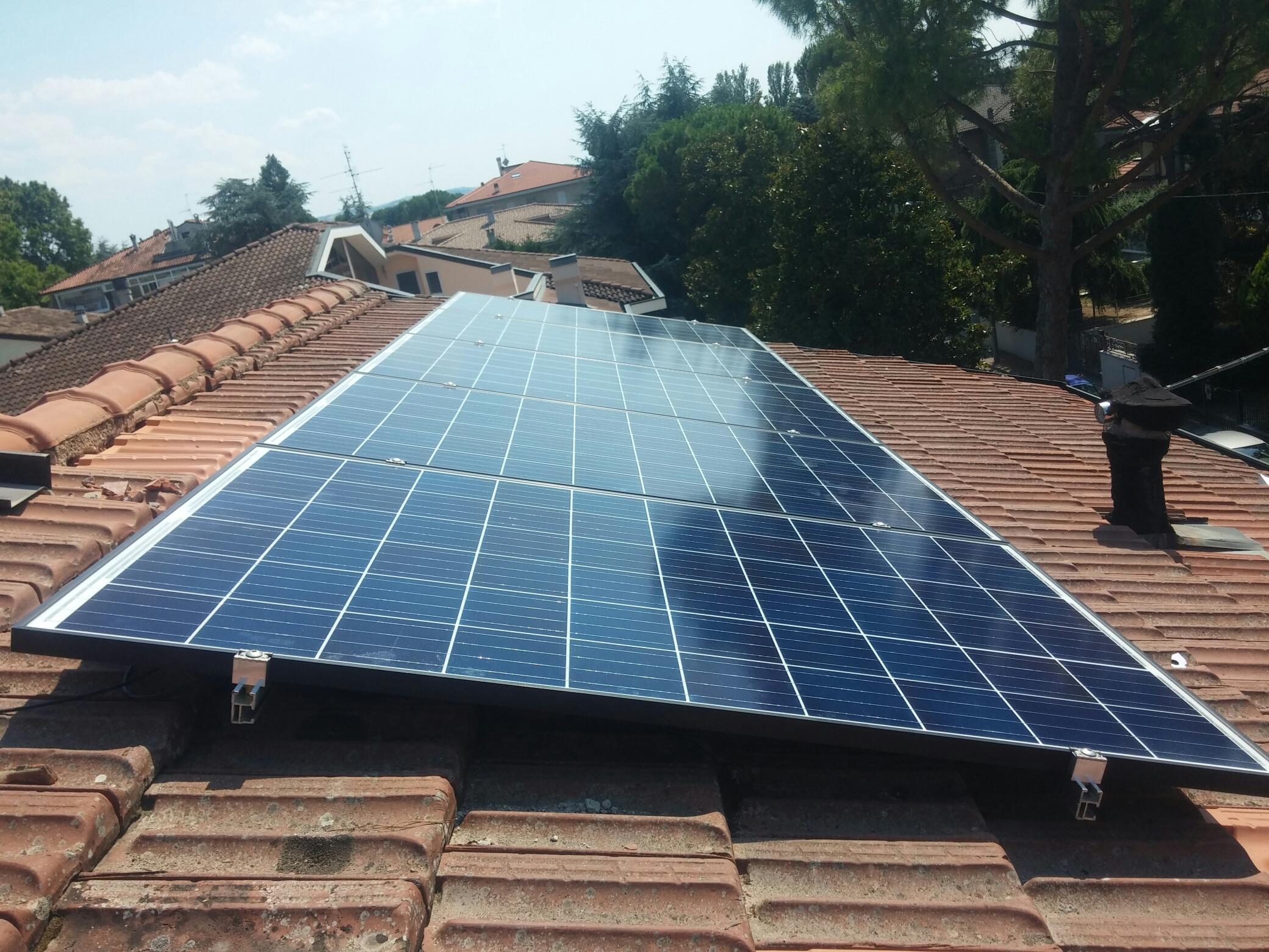 Impianto Fotovoltaico da 3kWp - Forlì (FC) - soetech.it
