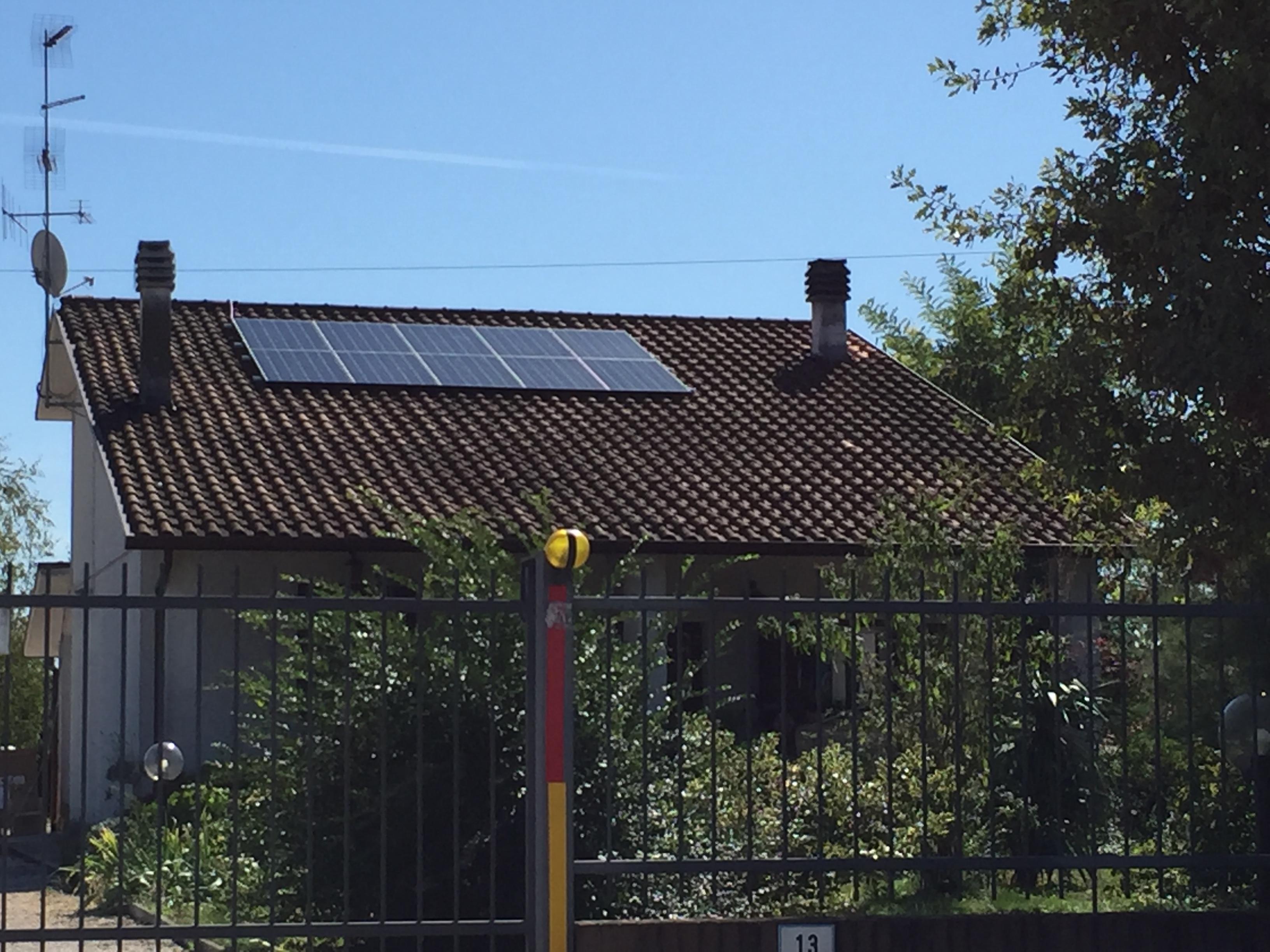 Impianto Fotovoltaico da 4,8kWp- Forlì (FC) - soetech.it