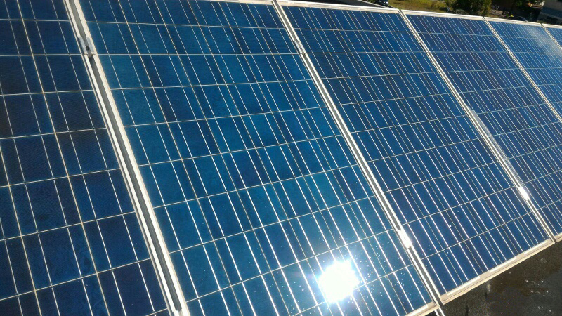 pannello fotovoltaico lavato - soetech.it