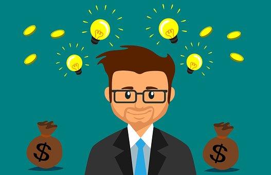 Businessman con lampadina_pixabay